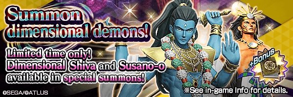 Dimensional Demons Drop Rate Increased! Dimensional Summon Incoming!