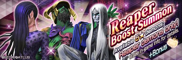 3% Drop Rate for 5★ Reaper demons!