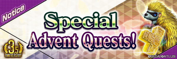 [3.5 Year Anniv.] Get up to 150 Universal Spirit 5★! Play Daily! Special Advent Quest is coming!