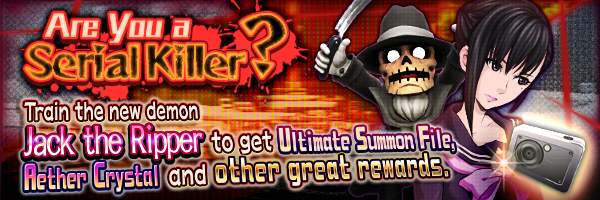 (Updated 9/14) Train Jack the Ripper to receive rewards! Train event