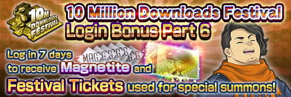Six weeks in a row! Log in to the game and get up to six 5★ demons!