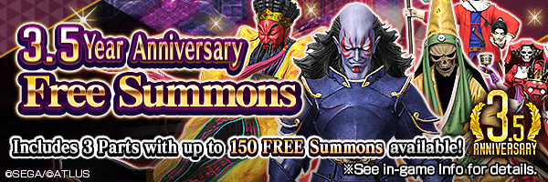 [3.5 Year Anniv.] Summon up to 150 times for