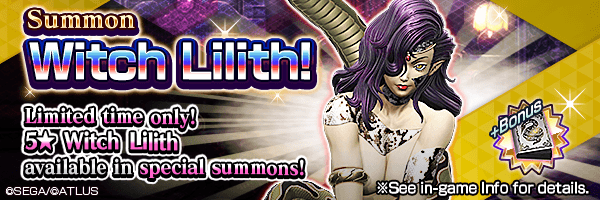 A chance to summon Witch Lilith! Witch Lilith Summons Incoming!