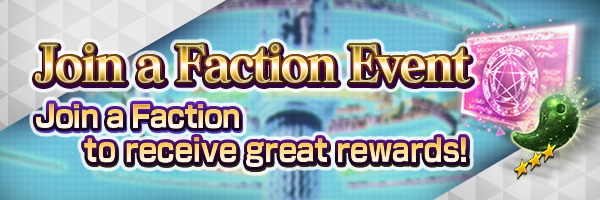 Join a Faction Event