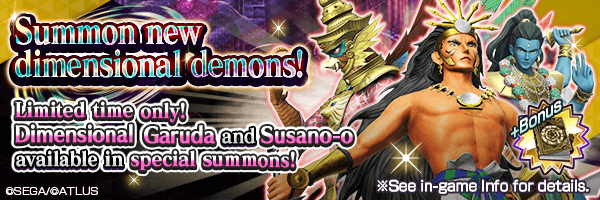 2 New Dimensional Demons available in Summons!