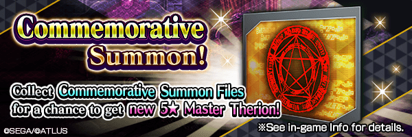 Collect Commemorative Summon Files from events for a chance to get new 5★ demon!