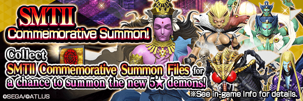 A chance to summon new 5★ demons!