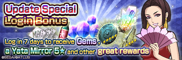 Receive Gems and items for upgradeing your demons!