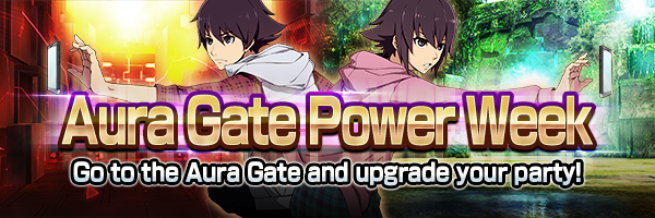 Go to the Aura Gate and upgrade your party!